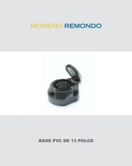 Base PVC de 13 Polos
