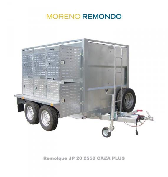 REMOLQUE JP20 2550 CAZA