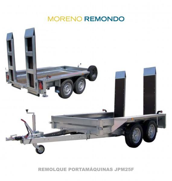 REMOLQUE PORTAMÁQUINAS JPM25F
