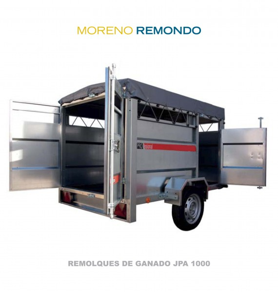 REMOLQUE DE GANADO JPA1000
