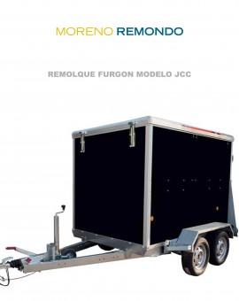 REMOLQUES FURGÓN MODELO JCC
