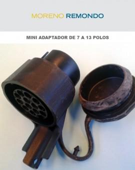 Mini adaptador de 7 a 13 polos