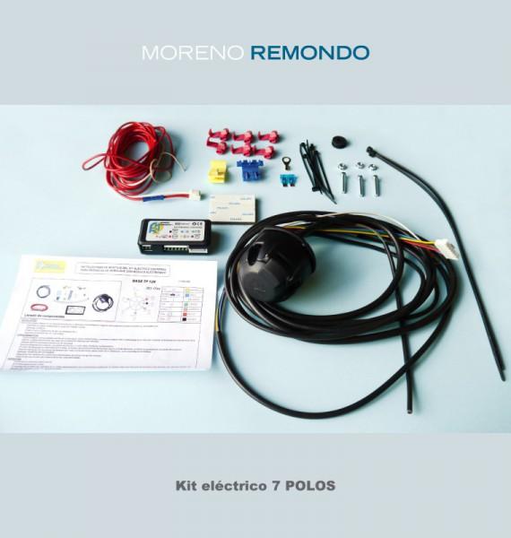 Kit específico universal 7 polos completo desconector de marcha atrás y antinielbla