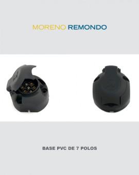 Base PVC de 7 Polos