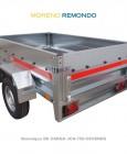 REMOQUE DE CARGA PROFESIONAL JCA-750-CEVENES