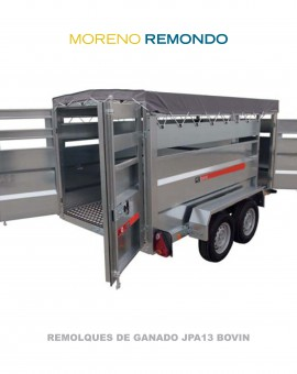REMOLQUE DE GANADO JPA13 BOVIN