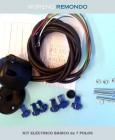 Kit eléctrico 7/P base PVP. Doble mangera 1600