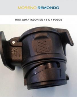 Mini adaptador de 13 a 7 polos