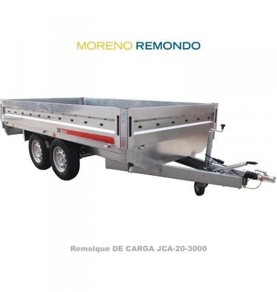 REMOLQUE DE CARGA JCA750/2-2550